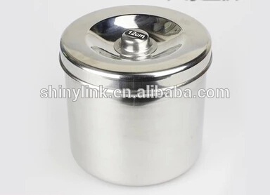 Hospital use Stainless steel dressing Jars with high quality